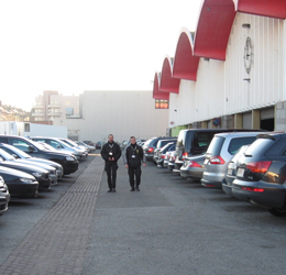 Gestion et surveillance de parking